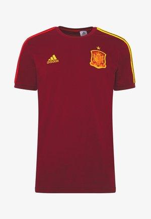 FEF 3S TEE - National team wear - bordeaux