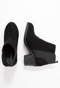 New Look Wide Fit - WIDE FIT CORA - Kotníková obuv - black - 3