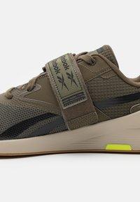 Reebok - LIFTER PR II - Sports shoes - army green/modern beige - 5