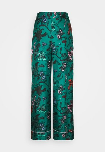 LETICIA - Pantaloni - multi/emerald