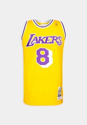 NBA KOBE BRYANT LA LAKERS 96-97 SWINGMAN - Club wear - light gold