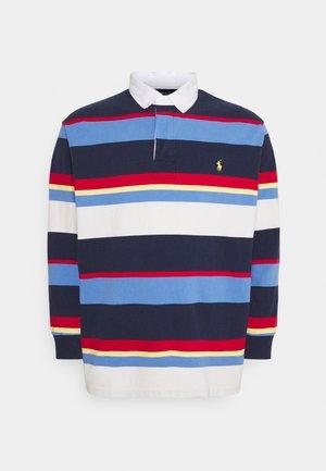 RUSTIC  - Polo shirt - navy/multi