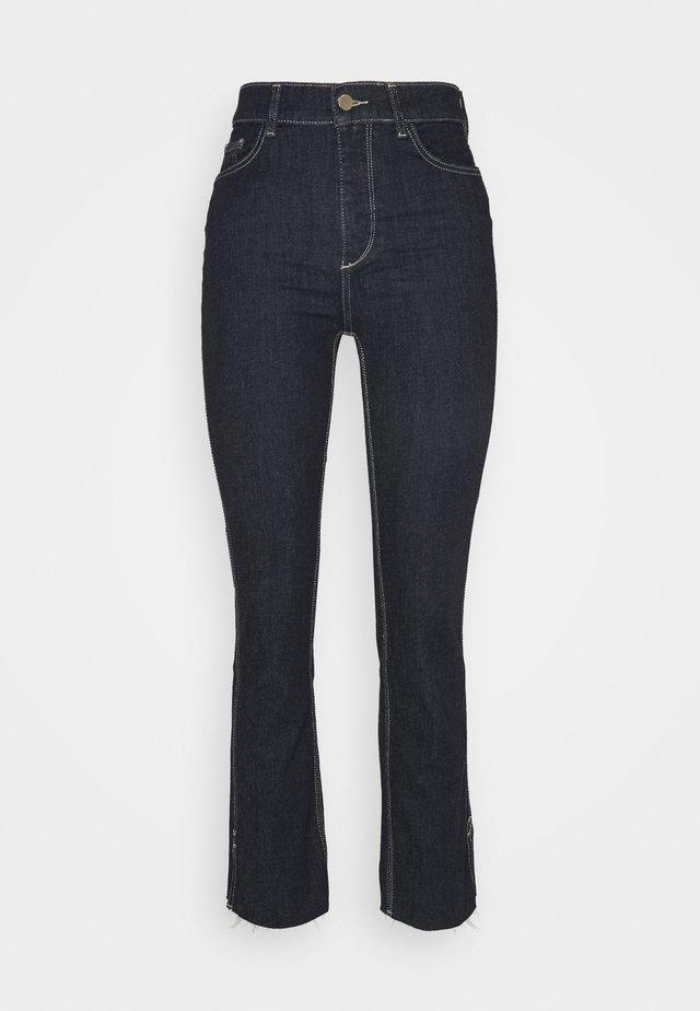 MARA ANKLE HIGH RISE  - Jeans straight leg - indigo