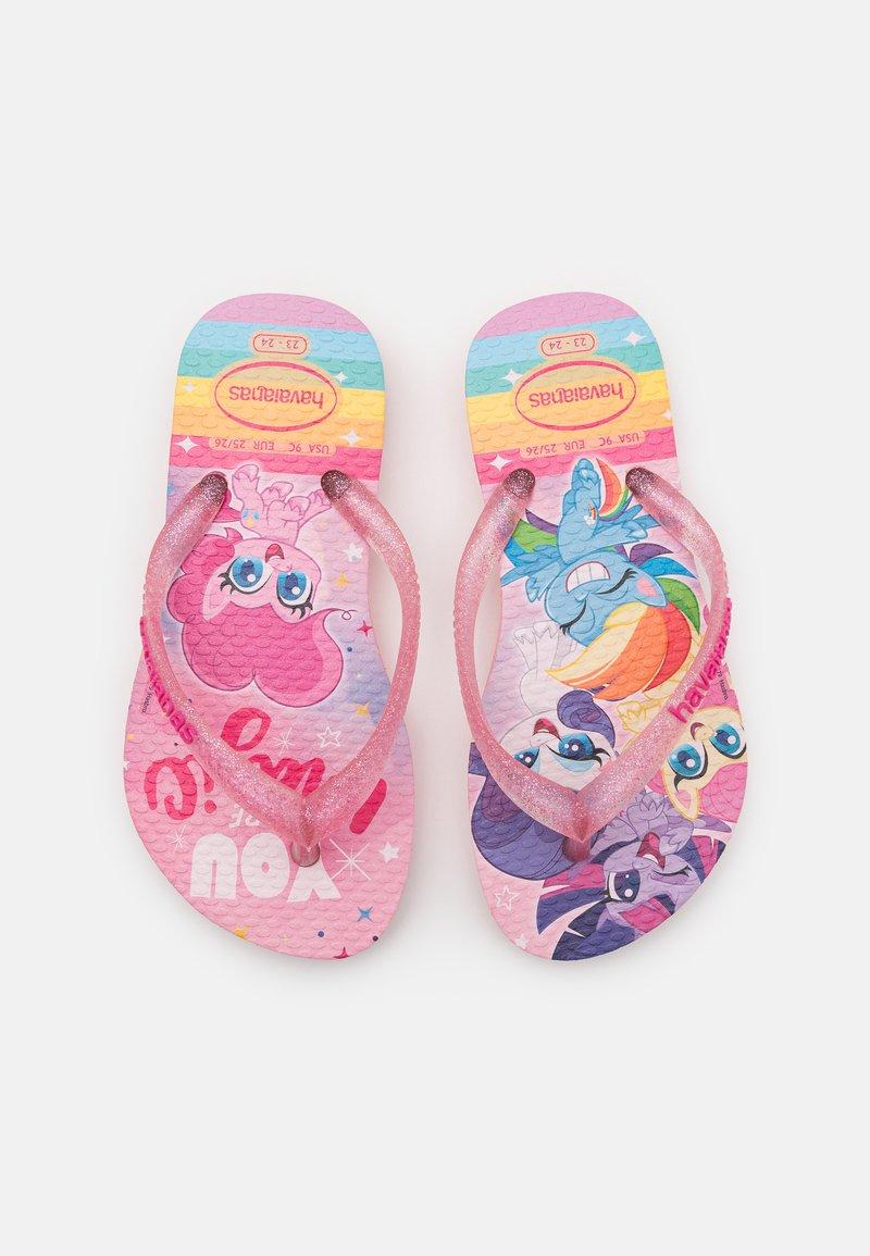Havaianas - MY LITTLE PONY - T-bar sandals - macaron pink