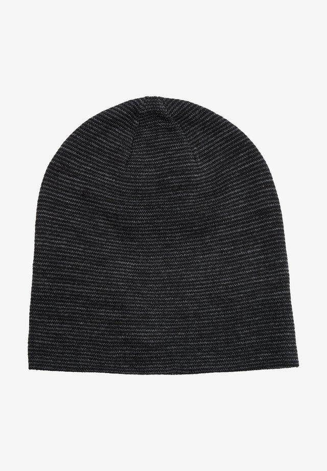 Mütze - black stripes