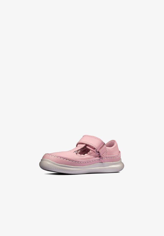 CREST SKY  - Touch-strap shoes - rosa leder