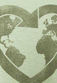 GAP - Print T-shirt - smoke green - 2