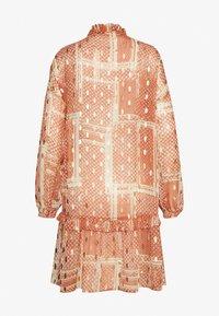 Cream - AGANACR  - Day dress - baked clay - 1