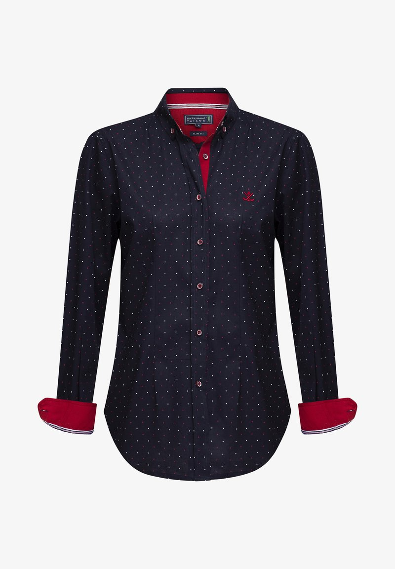 Sir Raymond Tailor - Button-down blouse - black
