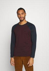 Burton Menswear London - LONG SLEEVE RAGLAN 2 PACK - Long sleeved top - off white - 3