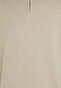 DOCKERS - ALPHA PLAITED - Stickad tröja - feather grey - 2