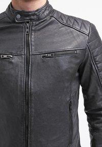 Be Edgy - BEANDY - Leather jacket - black - 4