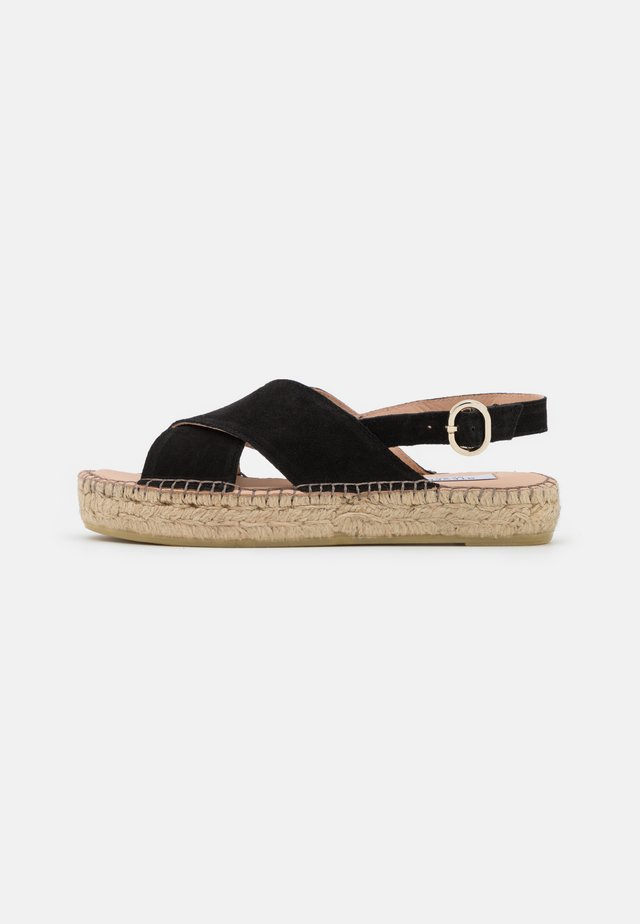 MARLIE - Platform sandals - black