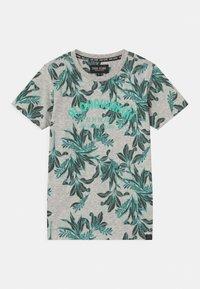 Cars Jeans - BOSSO - T-shirt imprimé - aqua - 0