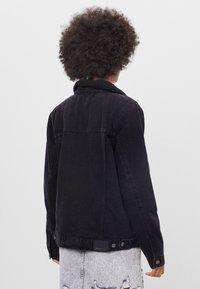 Bershka - Denim jacket - black - 2