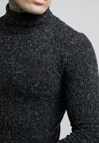 SIKSILK - ROLL NECK JUMPER - Maglione - black - 4