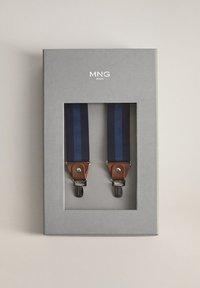 Mango - LINES - Belt - blau - 3