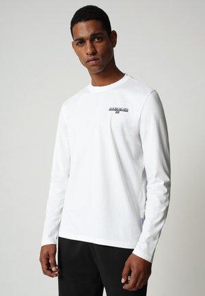 S-ICE LS - Longsleeve - bright white