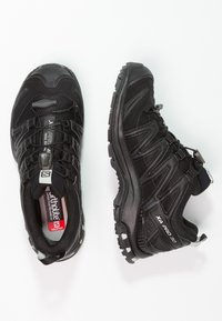 Salomon - XA PRO 3D GTX - Trail running shoes - black/black/mineral grey - 1