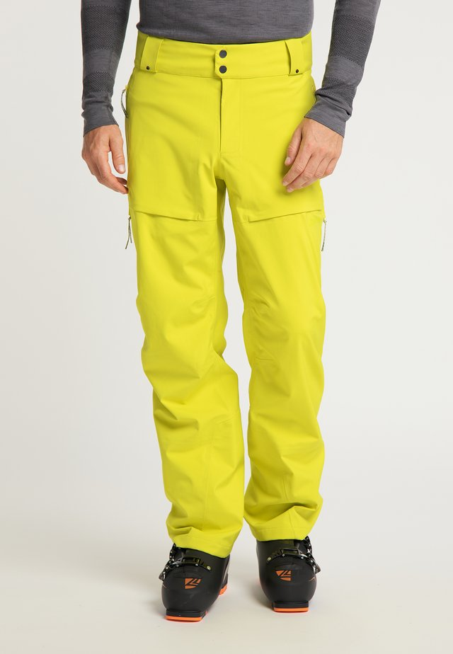 Trousers - whistle yellow