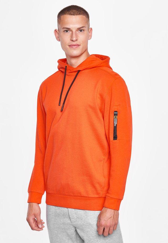 Hoodie - pumkin orange