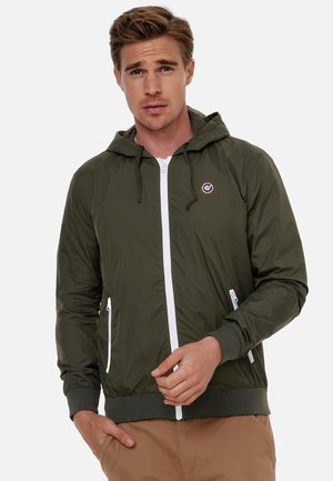 Outdoor jacket - olivegrün