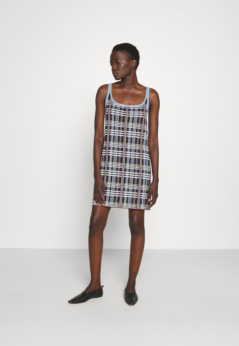 M Missoni - SLEEVELESS DRESS - Jumper dress - multicolor