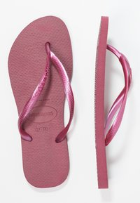 Havaianas - KIDS SLIM - Pool shoes - beet - 2
