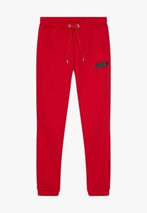 Pantaloni sportivi - cherry red