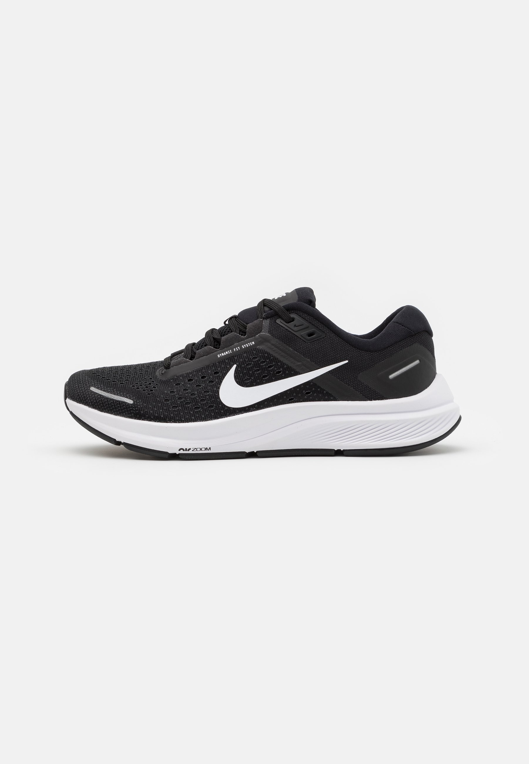 AIR ZOOM STRUCTURE 23 - Chaussures de running stables - black/white/anthracite