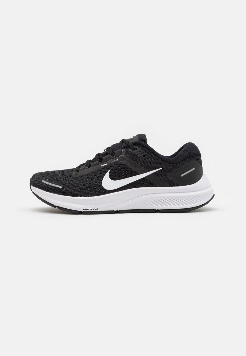 Nike Performance - AIR ZOOM STRUCTURE 23 - Stabile løpesko - black/white/anthracite