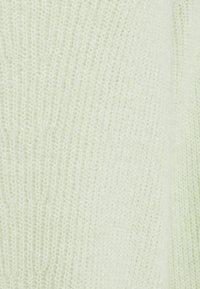 Zign - OVERSIZED V-NECK - Jumper - light green - 2