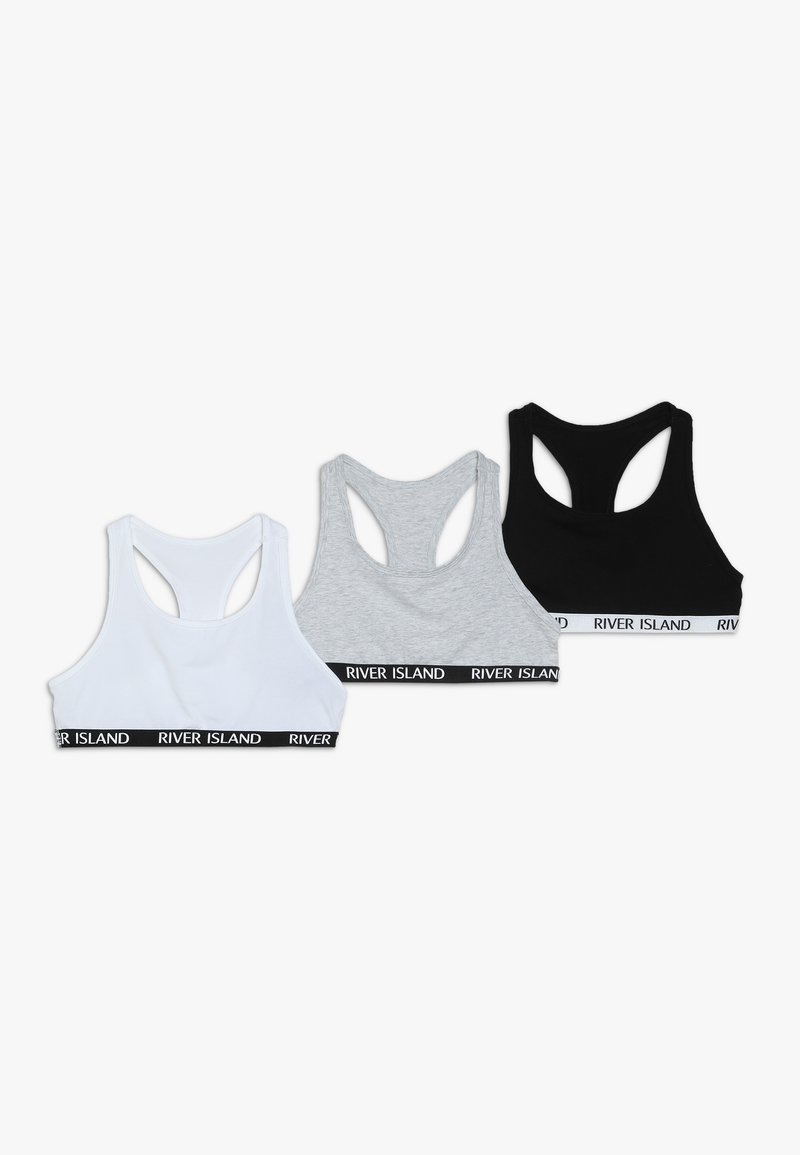 River Island - 3 PACK - Bustier - grey