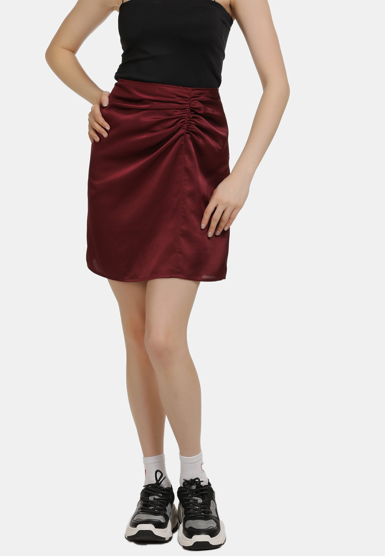 Discount Women's Clothing myMo A-line skirt beere 2LLhhUVX5