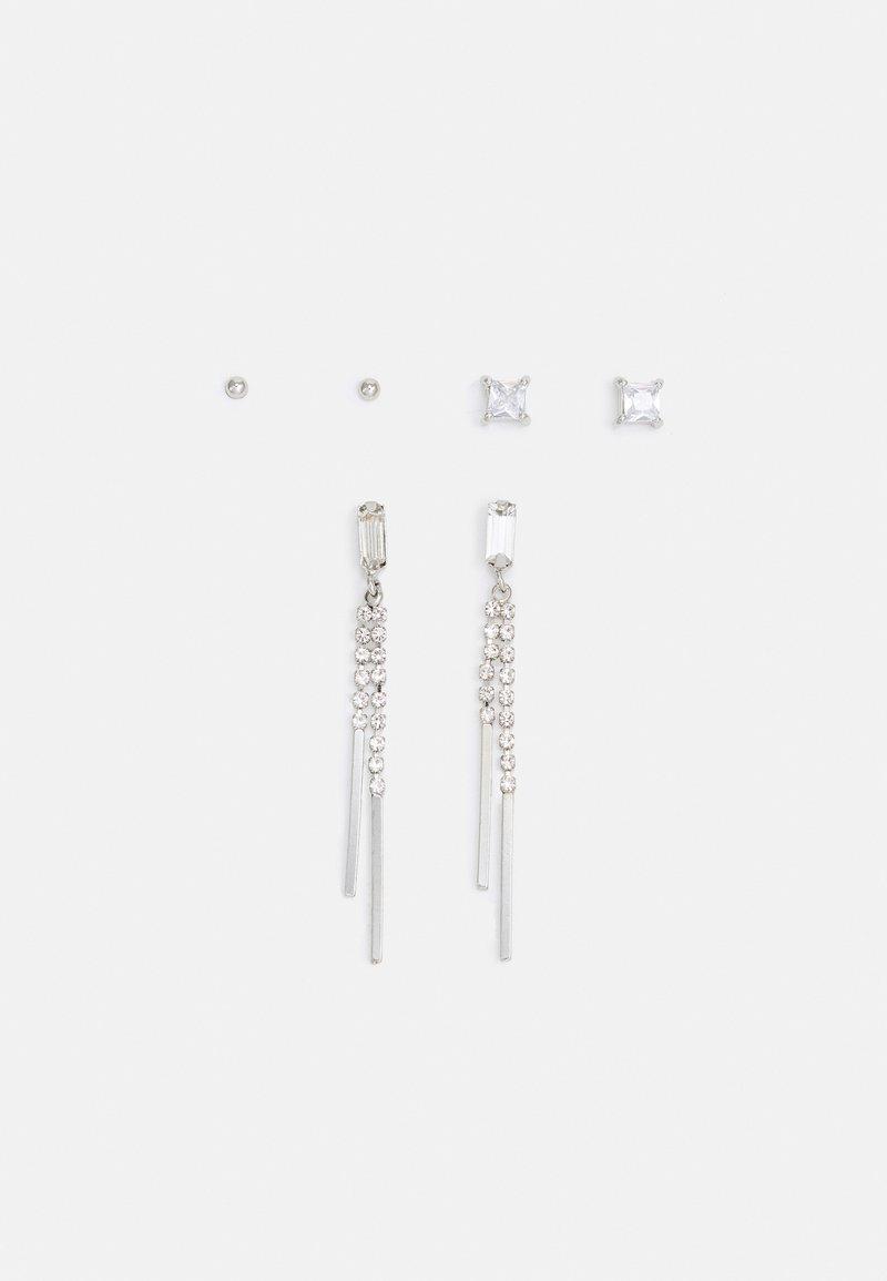 ALDO - UMAERI 3 PACK - Earrings - clear