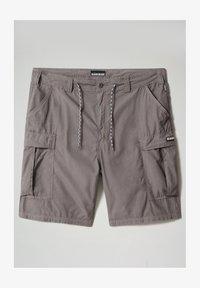 Napapijri - HANAKAPI - Shorts - grey gargoyle - 6