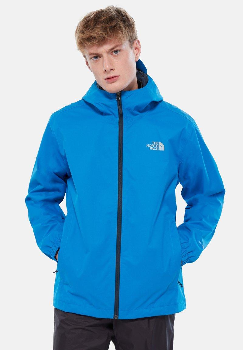 The North Face - MENS QUEST JACKET - Hardshell jacket - blue/black