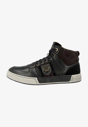 FREDERICO UOMO MID - Sneakers hoog - black