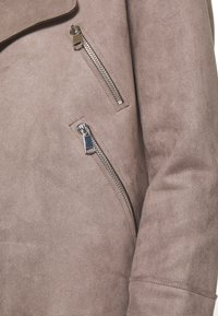 Cartoon - Faux leather jacket - earth grey - 4