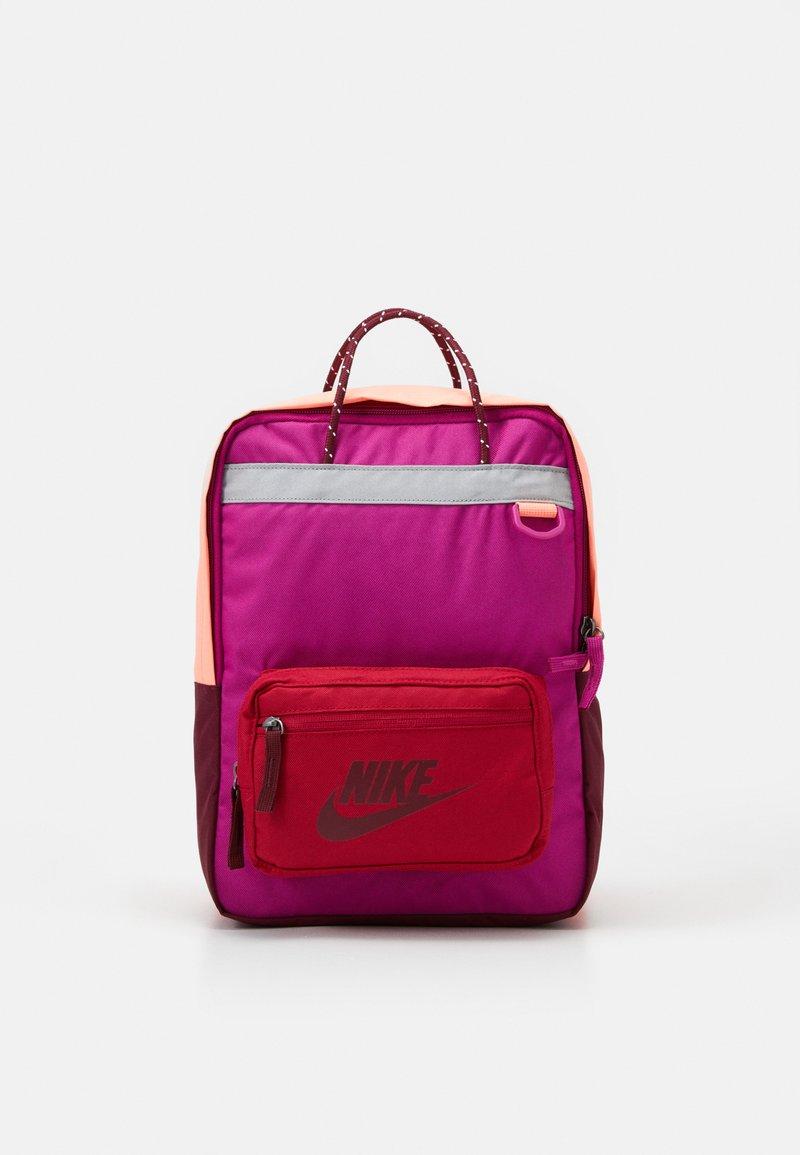 Nike Sportswear - TANJUN UNISEX - Tagesrucksack - cactus flower/cardinal red/dark beetroot