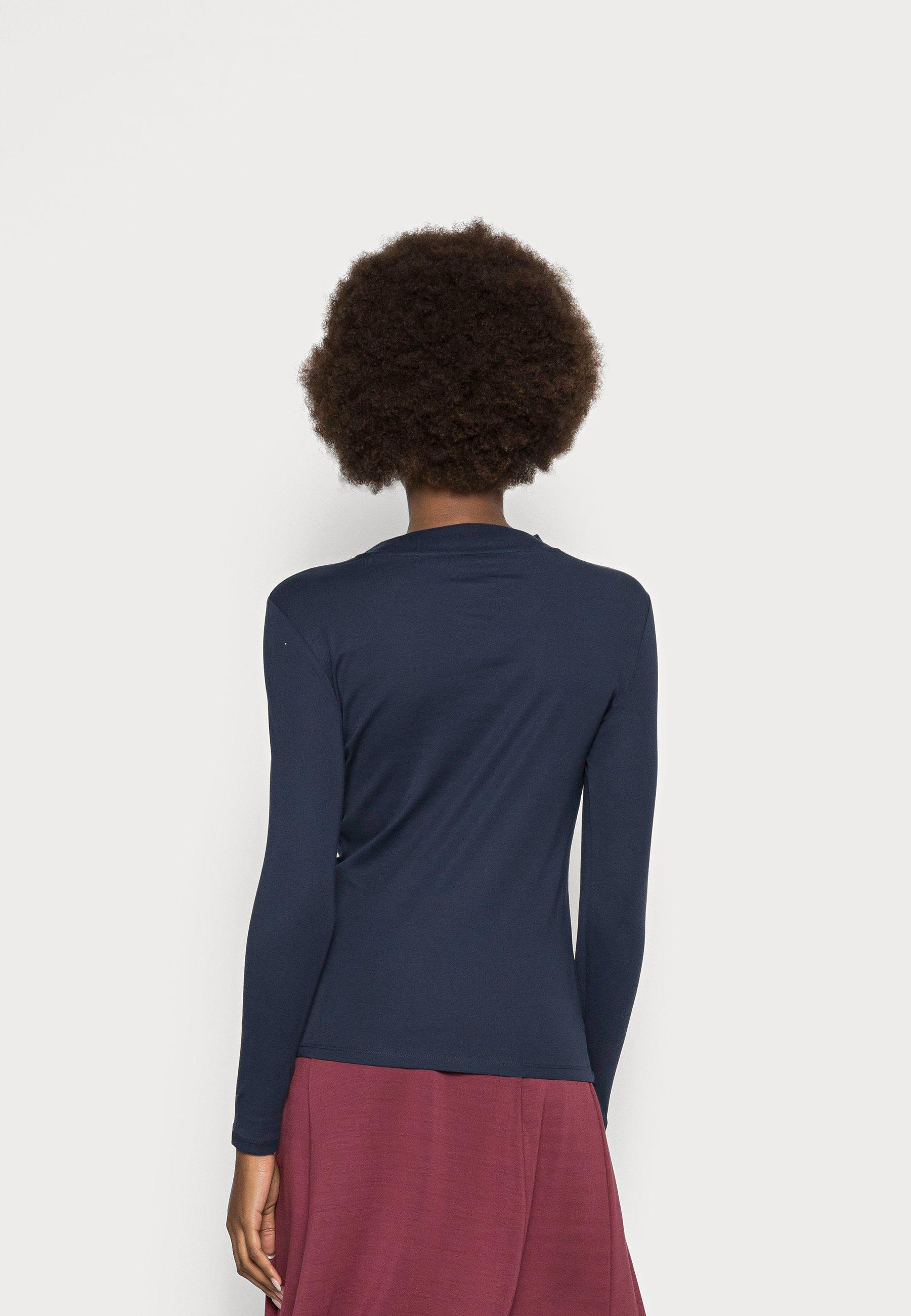 Women HIGH NECK - Long sleeved top