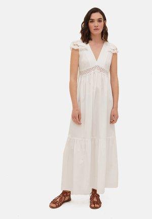 Maxi dress - bianco