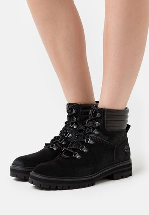 LONDON SQUARE HIKER - Lace-up ankle boots - black