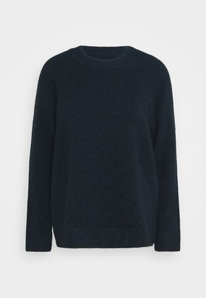 NOR LONG - Jumper - dark blue melange