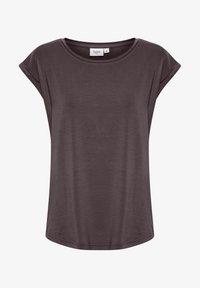 Saint Tropez - ADELIA - Basic T-shirt - huckleberry - 4