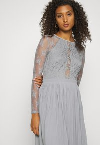 Nly by Nelly - SOMETHING ABOUT HER - Vestito elegante - grey - 3
