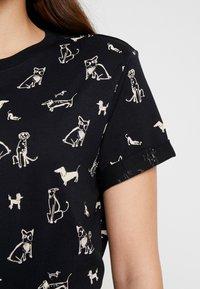 Esprit Petite - CORE - T-Shirt print - black - 5