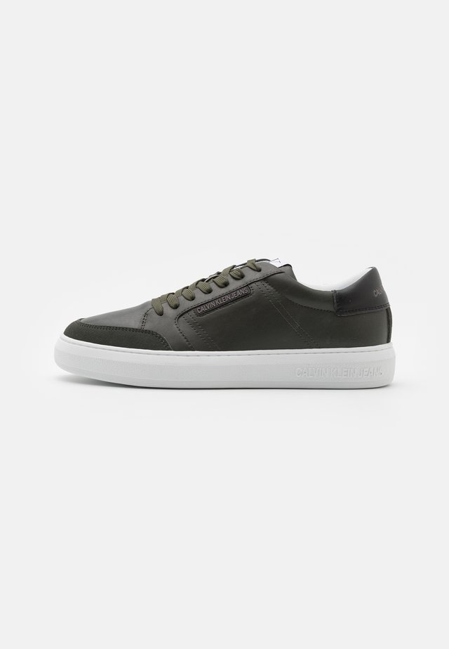 CUPSOLE LACEUP - Trainers - dark olive