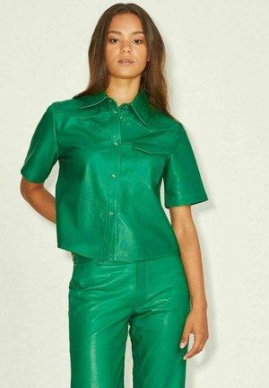 Button-down blouse - jolly green