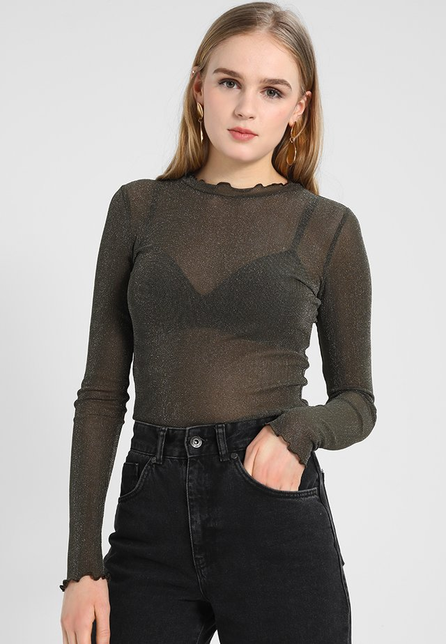MARKHILD  - T-shirt à manches longues - olive drab